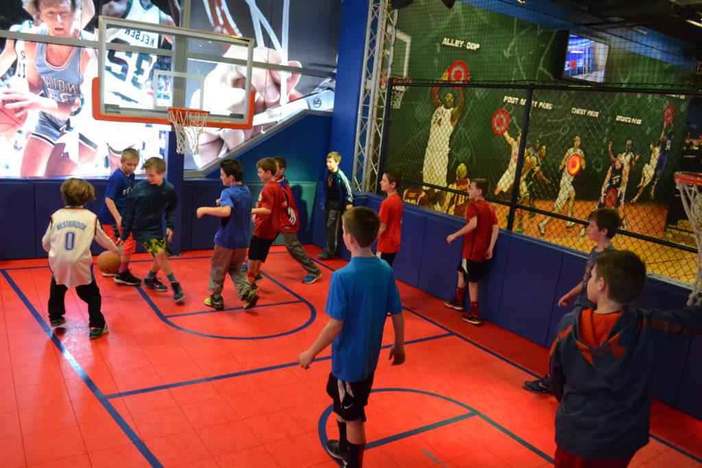 Birthday Party Venue In Kansas City Fun Basketball